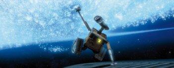Una sequenza del film Wall-E