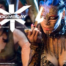 Un wallpaper del film Doomsday con Lee-Anne Liebenberg