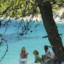 Amanda Seyfried in una scena del film Mamma Mia!