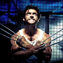 Hugh Jackman in una scena del film X-Men Origins: Wolverine