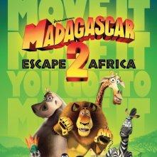 La locandina di Madagascar 2 - Via dall'isola