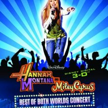 La locandina italiana di Hannah Montana/Miley Cyrus: Best of Both Worlds Concert Tour