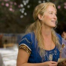 Meryl Streep in una scena del musical Mamma Mia!