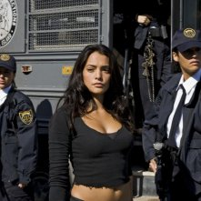 Natalie Martinez in una scena del film Death Race