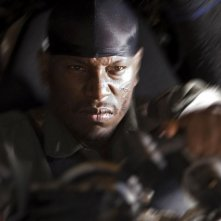 Tyrese Gibson in una scena del film Death Race