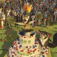 Un'immagine tratta da Madagascar 2 - Via dall'isola