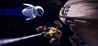 Un'immagine tratta dal cartoon Wall-E