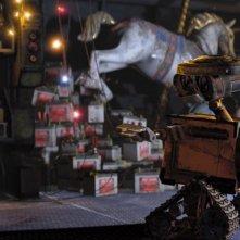 Un'immagine tratta dal film Wall-E, realizzato dalla Pixar