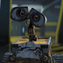 Un'immagine del protagonista del film Wall-E, l'attesissimo lavoro degli studios Pixar
