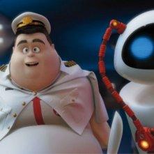 Una scena tratta dal film Wall-E, nuovo lavoro degli studios Pixar
