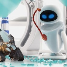 Un'immagine tratta dal film d'animazione Wall-E, prodotto dalla Pixar