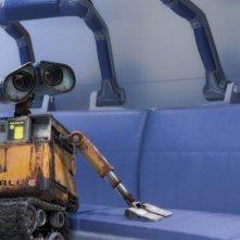 Una scena tratta dal film Wall-E realizzato dalla Pixar