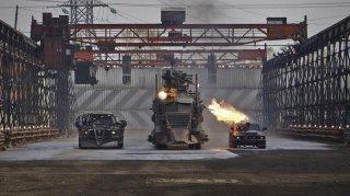 Una scena del film Death Race diretto da Paul W.S. Anderson