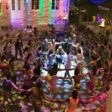 Una scena del musical Mamma Mia!