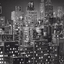 La città senza voce del film La antena