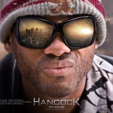 Un wallpaper del film Hancock (2008) con Will Smith