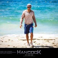 Un wallpaper del film Hancock con Will Smith