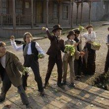 Una scena di gruppo del film Big City