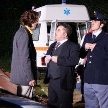 Andrea Roncato in una scena del film Ho ammazzato Berlusconi
