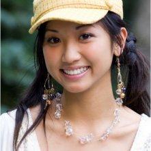 Brenda Song sul set del film College Road Trip