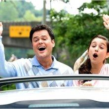 Donny Osmond e Molly Ephraim in una scena del film College Road Trip