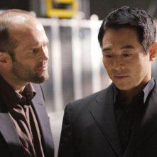 Jason Statham e Jet Li in una scena di Rogue - Il solitario