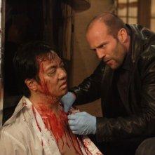 Jason Statham in una immagine tratta dal film Rogue - Il solitario