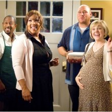 Martin Lawrence, Kym Whitley, Will Sasso e Geneva Carr in una scena del film College Road Trip