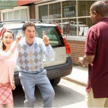 Molly Ephraim, Donny Osmond e Martin Lawrence in una scena del film College Road Trip