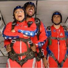 Raven-Symoné, Martin Lawrence e Michael Landes in una scena del film College Road Trip