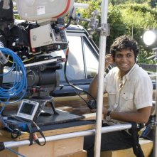 Il regista M. Night Shyamalan sul set del film E venne il giorno