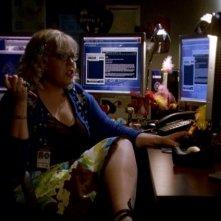 Kirsten Vangsness nel ruolo della vivace Garcia nella serie Criminal Minds, episodio: Charm and Harm