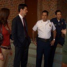 Lola Glaudini, Thomas Gibson, Carlos Gomez e Carlos Sanz in Criminal Minds, episodio: Machismo
