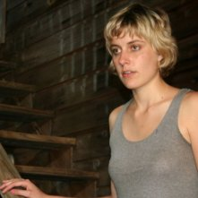 Greta Gerwig in una scena del film Baghead