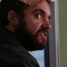 Scott Poythress in una scena del film The Signal