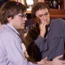Il regista James C. Strouse e John Cusack sul set del film Grace is Gone