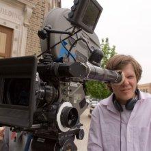Il regista James C. Strouse sul set del film Grace is Gone