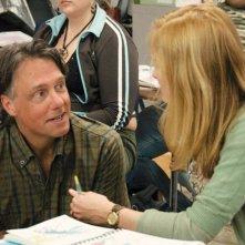 Il regista Mitchell Lichtenstein sul set del film Teeth