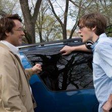 John Cusack e il regista James C. Strouse sul set del film Grace is Gone