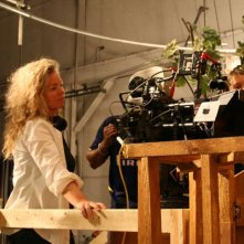 Patricia Rozema sul set del film Kit Kittredge: An American Girl