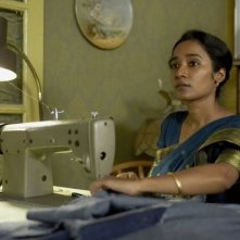 Tannishtha Chatterjee in una scena del film Brick Lane