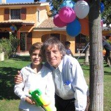 Lorenzo Zurzolo con Carlo Vanzina