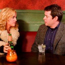 Brittany Snow e Matthew Broderick in una scena del film Finding Amanda