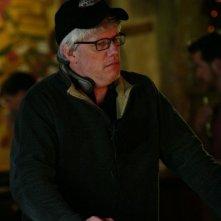 Il regista Peter Tolan sul set del film Finding Amanda