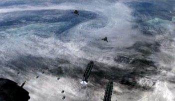Un'immagine dell'episodio Revelations della quarta stagione di Battlestar Galactica