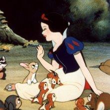 Una scena di Biancaneve e i sette nani