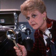Angela Lansbury in un'immagine promo della serie televisiva La signora in giallo