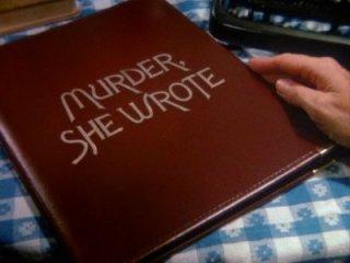 La signora in giallo, un'immagine della sigla del telefilm con Angela Lansbury