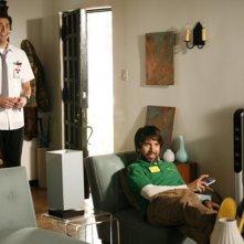 Zachary Levi e Joshua Gomez nel pilot di Chuck