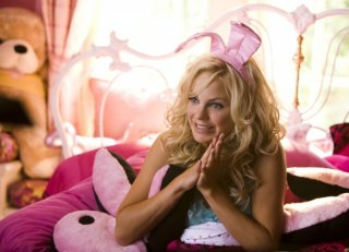 Anna Faris in una sequenza del film The House Bunny